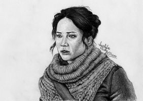 Katniss by angiebelikejolie