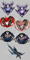 Transformers Charms: Decepticons by Karra-shi