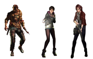 RER2*afflicted + moira + claire * render by Soraya-Mendez