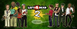 Left 4 Dead 2 - Meet the Cast by Sabtastic