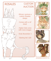 :Rosales: Custom Auction 01 {CLOSED} by SweepAdopts