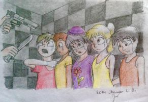5NaF: The Missing Five Children by SammfeatBlueheart