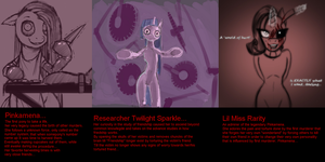 My top 3 Psychopath Little Ponies by 8feet