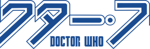 Doctor Who - Japanese logo by jedi-one