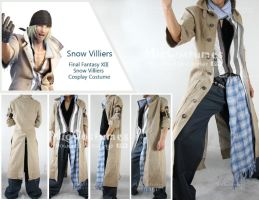 FF XIII Snow Villiers Cosplay by miccostumes