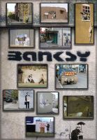 Banksy Wall Art by gustafnagel