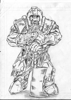 Dwarf Sketch by TuananhCong