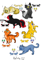 Cat Adopts -OPEN- by PannyPan