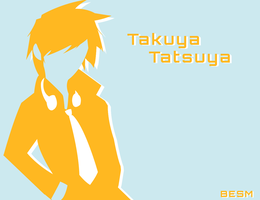 silhouette poster Takuya by R64-art
