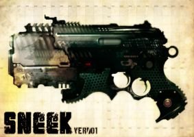 SNEEK Gun Concept by torvenius