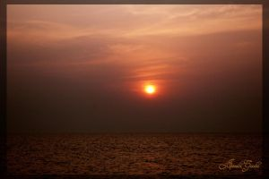 Sunset in Mumbai 2 by lildreams
