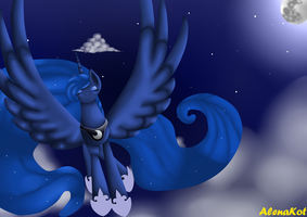 Princess Luna by AlenaKot