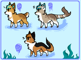 . Old character design adopts- Open . by HyperMuttAdoption