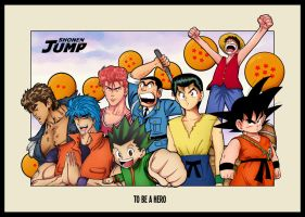Shonen Jump - To Be A Hero by MangaMugen