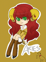 ...Aries...COLLAB by XocoWilde