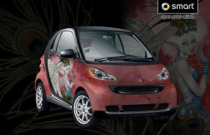 Peacock -Smart Car Contest by MisticUnicorn