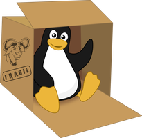 Tux in a box by MawsCM