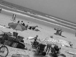 A Day At The Beach by EBSpurlin