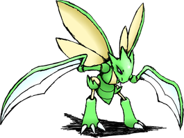 PKMN: Scyther by Voxollous