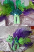 Peacock pony by angel99percent