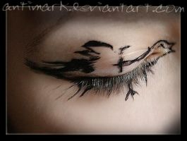 try to fly by antiMark
