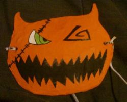 Halloween Town Sora Mask by Cute-Kitty-Vampire