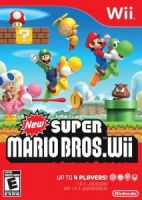 New Super Mario Bros Wii Box by Mariostriker0