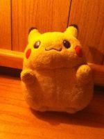 Plush Pikachu by chrisofduty6