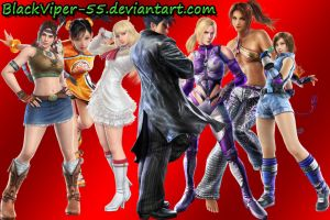 Jin Kazama - Ladies' Man by BlackViper-55