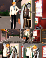 MMD GLaDOS and the Vending Machine by Trackdancer