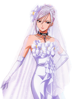 Moka's Wedding Dress by RinaSuzume