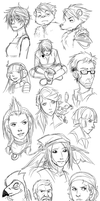 Scoundrels Sketches by Sonira