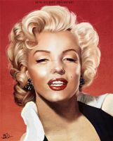 Marilyn Monroe by Beth-Gilbert