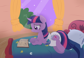 Midnight Reading by Hourglass-Sands