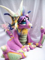 Rainbow Sherbet Dragon 2- by Tanglewood-Thicket