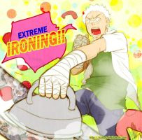 EXTREME IRONING IN COLOR by MechaBerry