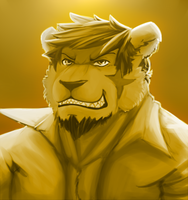 portrait by Galvin-wolf
