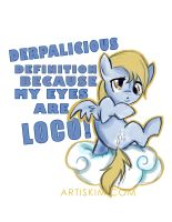 DERPYLICIOUS by KimistryLooneyArtis