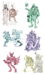 More Fantasy Classes by AngusMcLeod