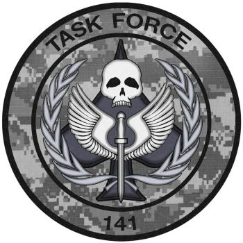 Task Force 141 camouflage by frakmaster