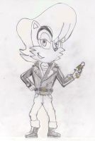 Sally Acorn in leather: Ready For Action Partner? by ClassicSonicSatAm
