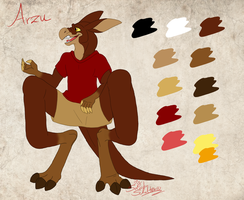 Character sheet commission for Specter06 by StanHoneyThief