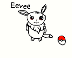 Eevee from pokemon! by Rainbowdyay