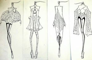 unfinished sketches by Sonbo