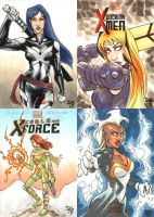Marvel NOW! sketch cards 1 by mechangel2002