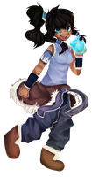 HEY YO LOOK ITS KORRA GO SAY HI OR SOMETHING by Samooraii