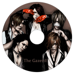 The GazettE - CD design by Rose333