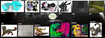 2013 Summary of Art by OctoberOwl