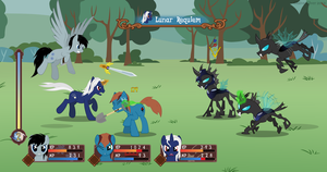 Tales of Equestria - Changeling Battle by Glaive-Silver