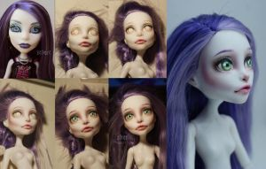 My first doll repaint by Ashiwa666